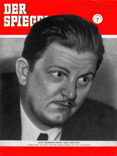 Erich H. Jürgens, Geburtstag 6.2.1952, 7.2.1952, 8.2.1952, 9.2.1952, 10.2.1952, 11.2.1952, 12.2.1952