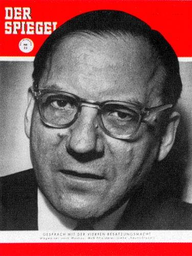 DER SPIEGEL Nr. 23, 2.6.1954 bis 8.6.1954