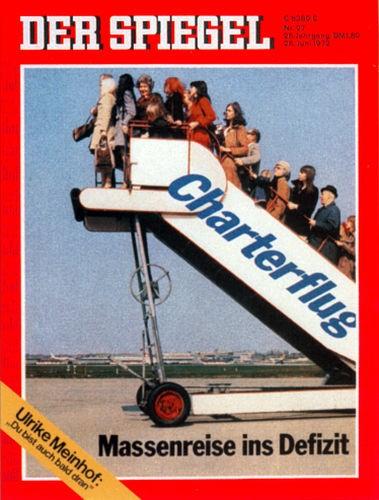 DER SPIEGEL Nr. 27, 26.6.1972 bis 2.7.1972