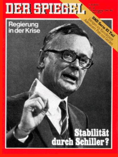 DER SPIEGEL Nr. 21, 17.5.1971 bis 23.5.1971