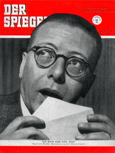 DER SPIEGEL Nr. 16, 16.4.1952 bis 22.4.1952