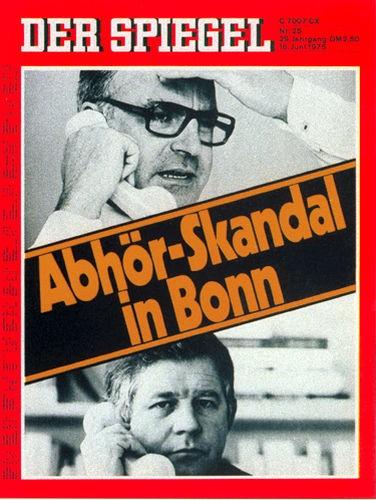 DER SPIEGEL Nr. 25, 16.6.1975 bis 22.6.1975