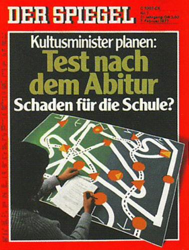 DER SPIEGEL Nr. 7, 7.2.1977 bis 13.2.1977