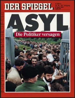 DER SPIEGEL Nr. 15, 6.4.1992 bis 12.4.1992