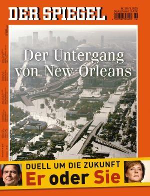 DER SPIEGEL Nr. 36, 5.9.2005 bis 11.9.2005