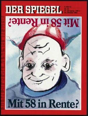DER SPIEGEL Nr. 43, 24.10.1983 bis 30.10.1983