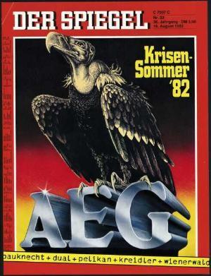 DER SPIEGEL Nr. 33, 16.8.1982 bis 22.8.1982