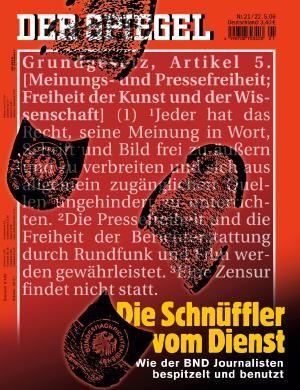 DER SPIEGEL Nr. 21, 19.5.2006 bis 25.5.2006