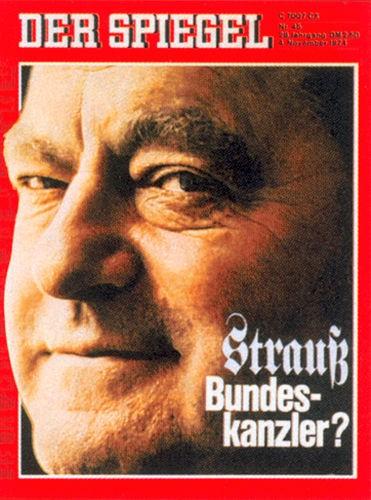 DER SPIEGEL Nr. 45, 4.11.1974 bis 10.11.1974