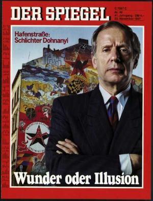 DER SPIEGEL Nr. 48, 23.11.1987 bis 29.11.1987