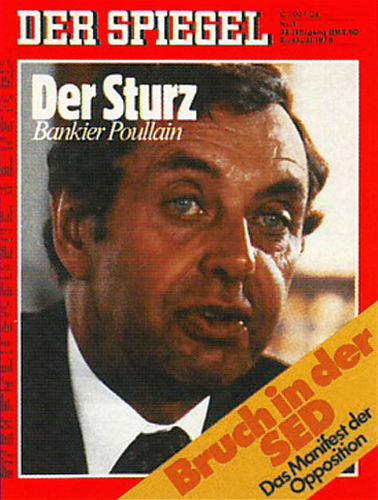 Der spiegel 1978 der spiegel 1970 1979 spiegel for Spiegel zeitung