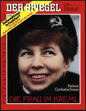 DER SPIEGEL Nr. 46, 11.11.1985 bis 17.11.1985
