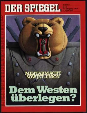 DER SPIEGEL Nr. 15, 11.4.1983 bis 17.4.1983