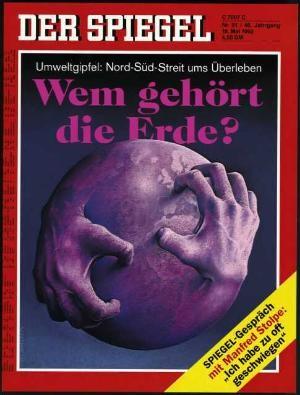 DER SPIEGEL Nr. 21, 18.5.1992 bis 24.5.1992