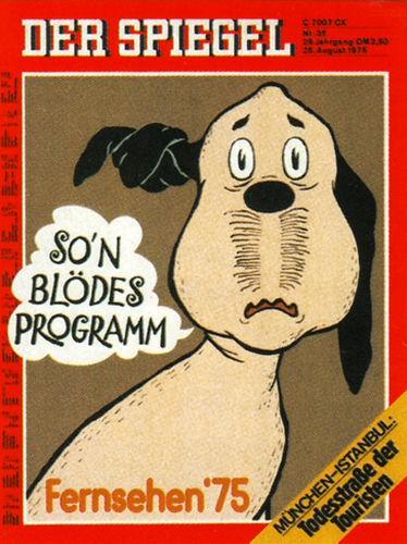 DER SPIEGEL Nr. 35, 25.8.1975 bis 31.8.1975