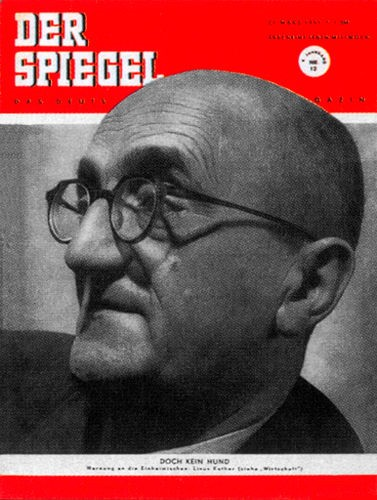 Original Zeitung DER SPIEGEL vom 21.3.1951 bis 27.3.1951