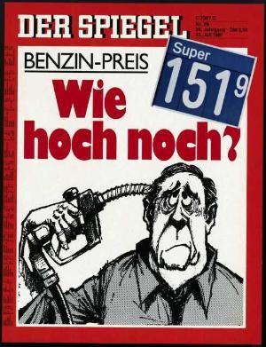 Der Spiegel 29/1981, Zeitung 13.7.1981, 14.7.1981, 15.7.1981, 16.7.1981, 17.7.1981, 18.7.1981, 19.7.1981