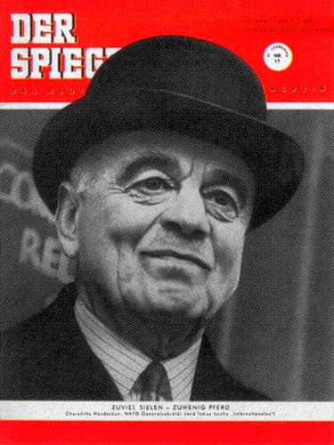DER SPIEGEL Nr. 17, 23.4.1952 bis 29.4.1952
