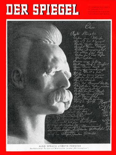 DER SPIEGEL Nr. 5, 29.1.1958 bis 4.2.1958