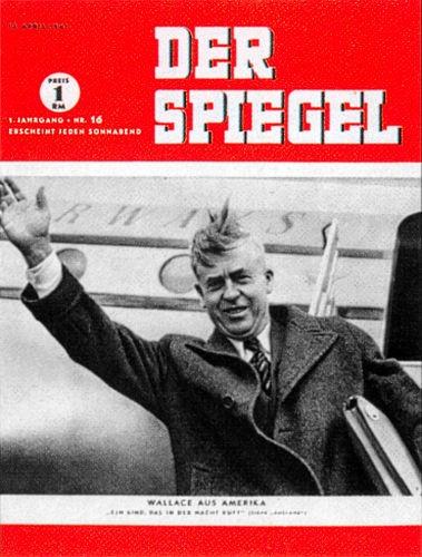 DER SPIEGEL Nr. 16, 19.4.1947 bis 25.4.1947