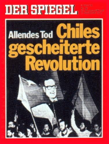 Original Zeitung DER SPIEGEL vom 17.9.1973 bis 23.9.1973