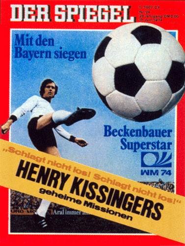 DER SPIEGEL Nr. 24, 10.6.1974 bis 16.6.1974