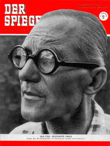 Zeitung 9.4.1952, Le Corbusier