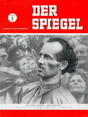 Zeitung DER SPIEGEL 7.7.1949 Gröning