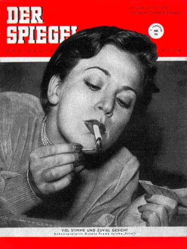 DER SPIEGEL Nr. 26, 27.6.1951 bis 3.7.1951