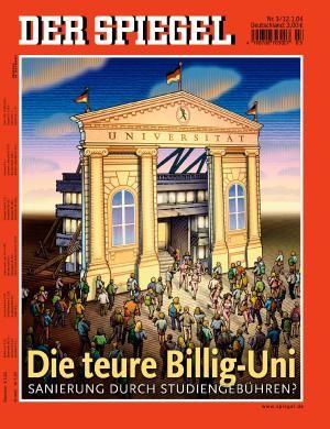 DER SPIEGEL Nr. 3, 12.1.2004 bis 18.1.2004