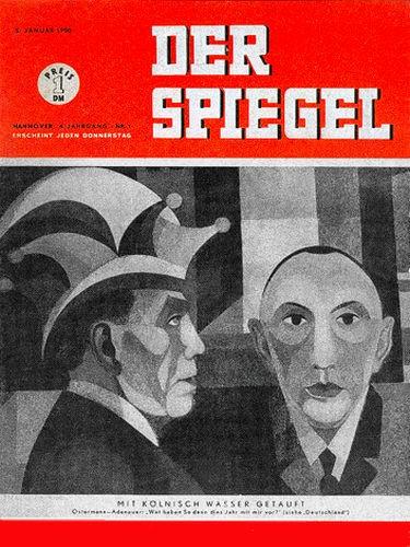 Ostermann, DER SPIEGEL 5.1.1950, Geburtstag 5.1.1950, 6.1.1950, 7.1.1950, 8.1.1950, 9.1.1950, 10.1.1950, 11.1.1950