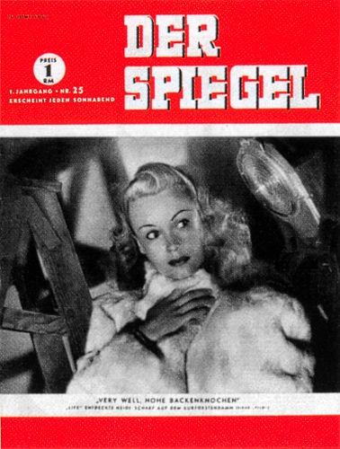 DER SPIEGEL Nr. 25, 21.6.1947 bis 27.6.1947