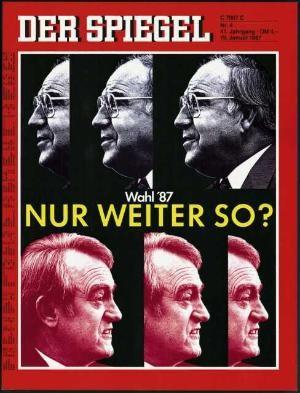 DER SPIEGEL Nr. 4, 19.1.1987 bis 25.1.1987