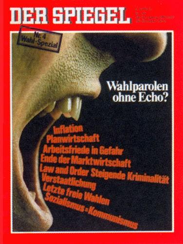 DER SPIEGEL Nr. 45, 30.10.1972 bis 5.11.1972
