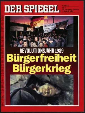 DER SPIEGEL Nr. 1, 1.1.1990 bis 7.1.1990