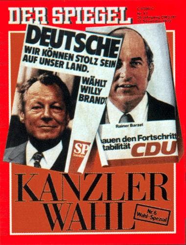 DER SPIEGEL Nr. 47, 13.11.1972 bis 19.11.1972