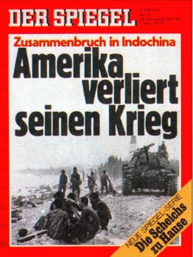 DER SPIEGEL Nr. 15, 7.4.1975 bis 13.4.1975
