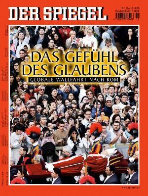 DER SPIEGEL Nr. 15, 11.4.2005 bis 17.4.2005