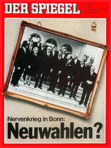 DER SPIEGEL Nr. 12, 13.3.1972 bis 19.3.1972