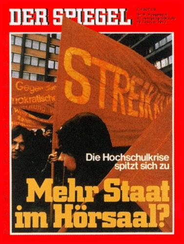 DER SPIEGEL Nr. 8, 19.2.1973 bis 25.2.1973
