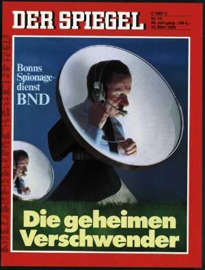 DER SPIEGEL Nr. 12, 19.3.1984 bis 25.3.1984