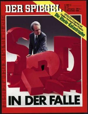 DER SPIEGEL Nr. 47, 17.11.1986 bis 23.11.1986