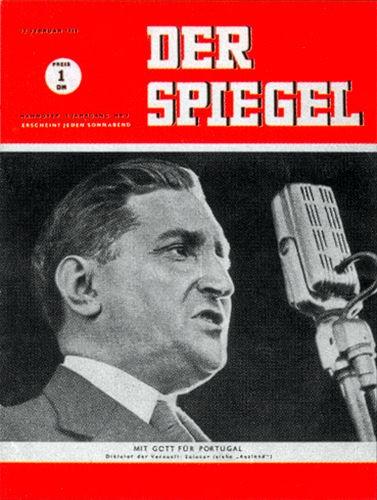DER SPIEGEL Nr. 7, 12.2.1949 bis 18.2.1949