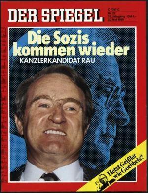 DER SPIEGEL Nr. 21, 20.5.1985 bis 26.5.1985