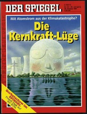 DER SPIEGEL Nr. 44, 28.10.1991 bis 3.11.1991