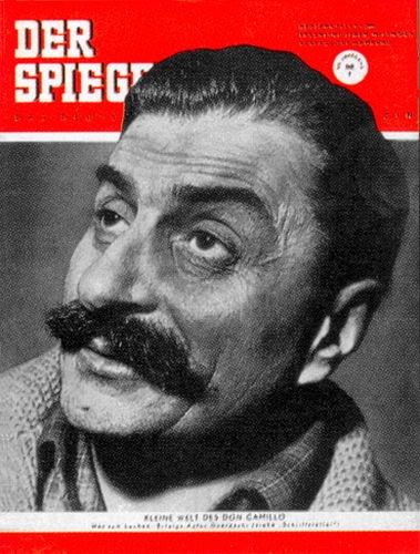 DER SPIEGEL Nr. 1, 1.1.1953 bis 7.1.1953
