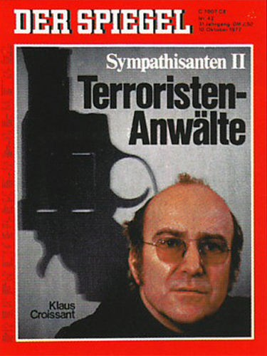 Terroristen Anwälte, RAF, Claus Croissant