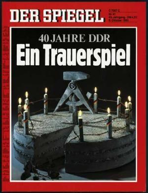DER SPIEGEL Nr. 41, 9.10.1989 bis 15.10.1989