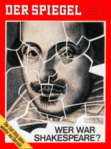 22.4.1964, 23.4.1964, 24.4.1964, 25.4.1964, 26.4.1964, 27.4.1964, 28.4.1964, Zeitung vom 22.4.1964 bis 28.4.1964, Wer war Shakespeare?, DER SPIEGEL 17/1964