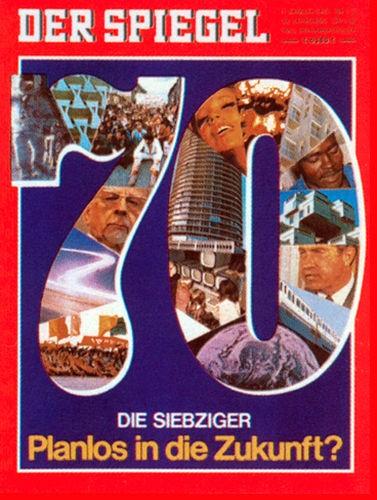 Zeitung 1970 DER SPIEGEL 5.1.1970